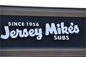 Jersey Mike's Building Sign