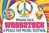 Bringing Back WoodStock Tie-Dye Flyer